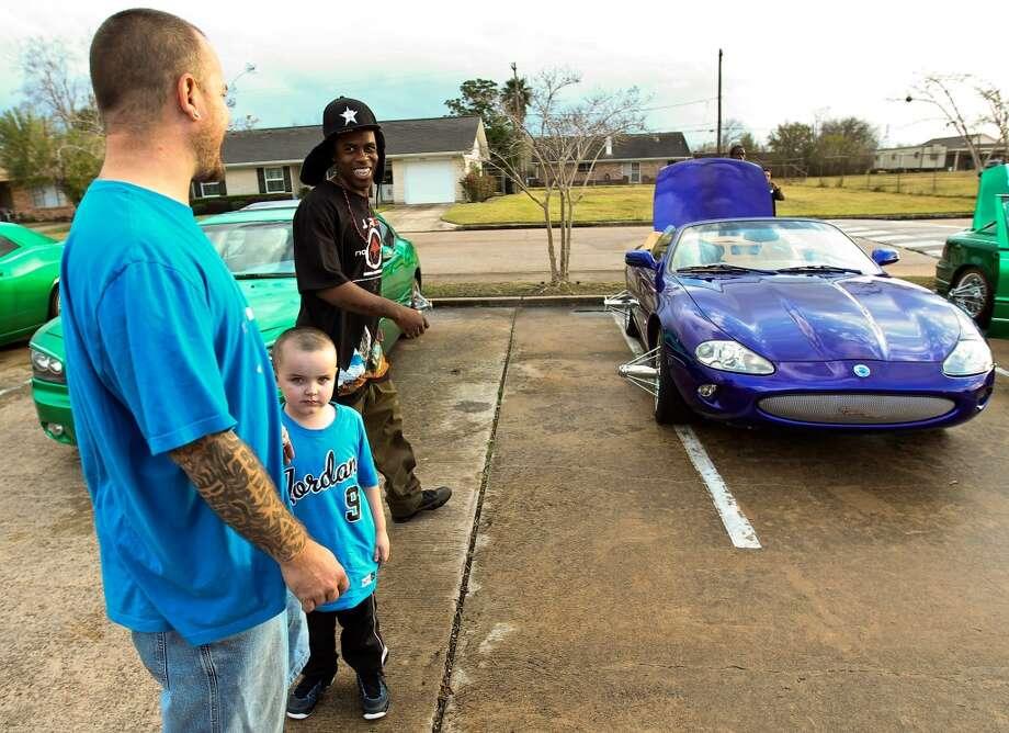 Slab car culture in Houston. Photo: Nick De La Torre, Houston Chronicle