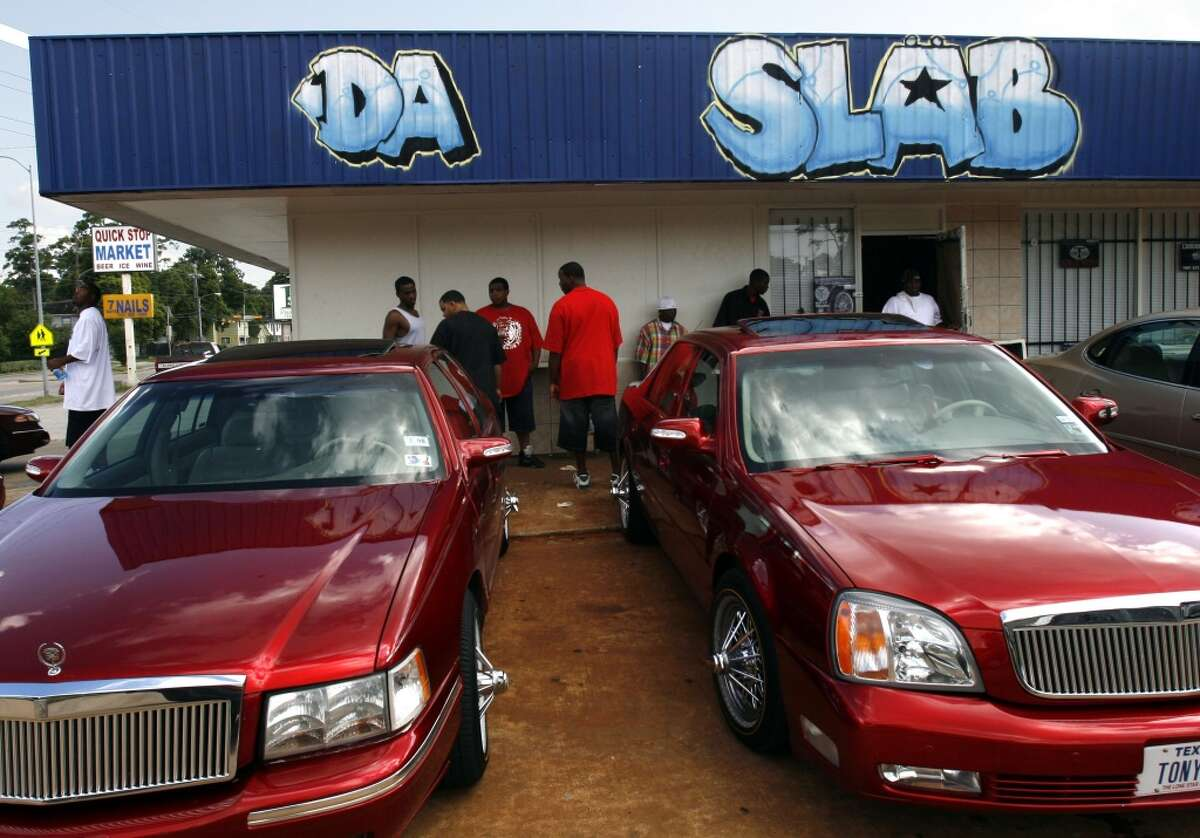 """""""Slab"""" For regular people a slab is where they mix ice cream with all the yummy extras, for Houstonians a slab is a """"Slow Low And Bangin"""" car that has been fully customized."""