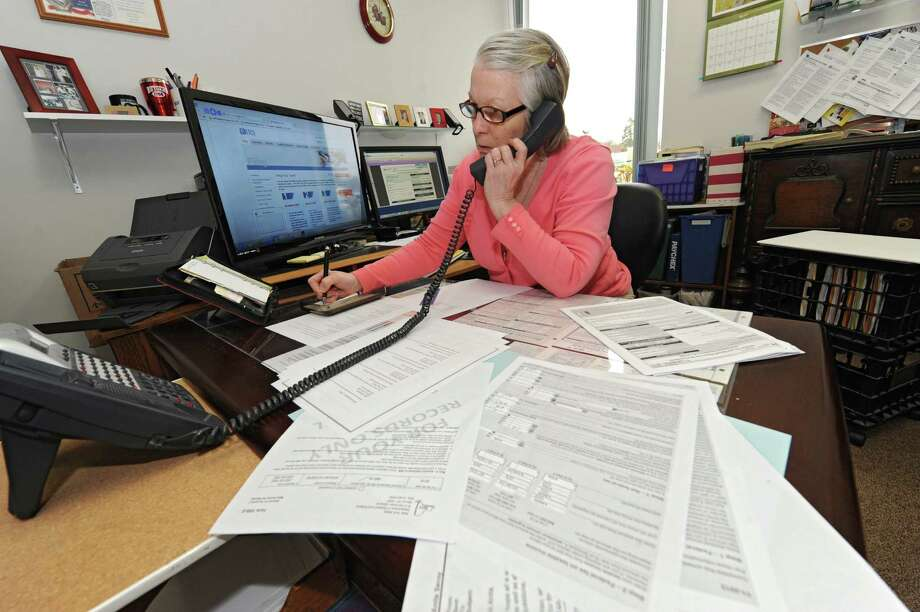 Since D.C. holidays are treated as federal holidays for tax-filing purposes, this year's official tax-filing deadline is Monday, April 18, for everyone, not just D.C. residents. Photo: Albany Times Union File Photo / ONLINE_YES