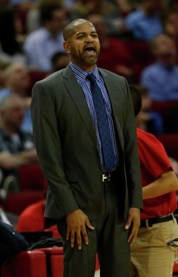 Houston Rockets head coach J.B. Bickerstaff during the first half of an NBA basketball game at Toyota Center, Friday, March 25, 2016.  ( Karen Warren / Houston Chronicle ) Photo: Karen Warren, Staff / © 2016  Houston Chronicle