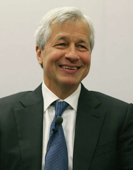 WASHINGTON, DC - APRIL 05:Jamie Dimon, chairman and CEO of JPMorgan Chase & Co., participates in a discussion on Detroit's economic recovery on April 5, 2016 in Washington, DC. JPMorgan Chase announced they will make a five-year, $125 million commitment to Detroit's economic recovery. (Photo by Mark Wilson/Getty Images) Photo: Mark Wilson, Staff / 2016 Getty Images