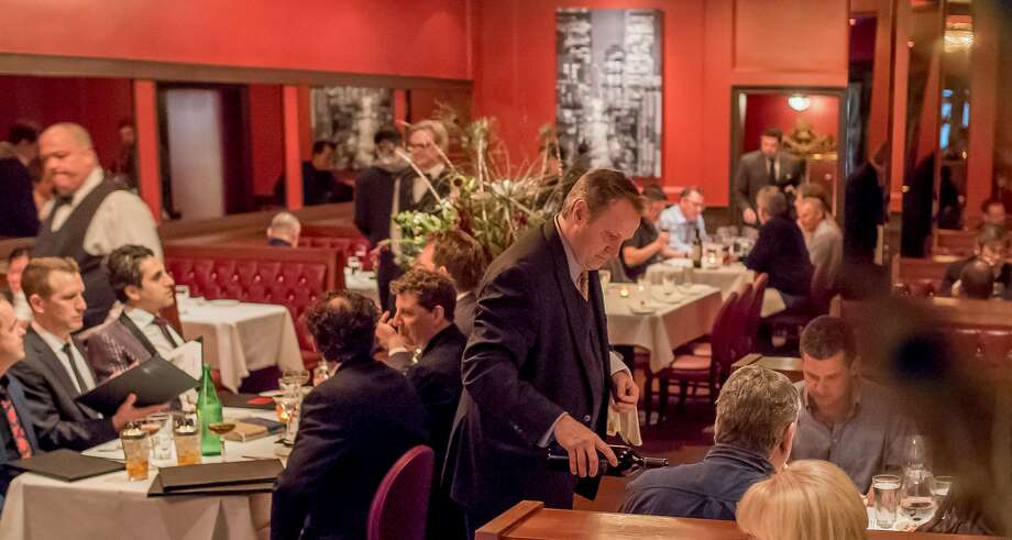 Diners have dinner at Alfred's Steakhouse in San Francisco, Calif., on April 7th, 2016. Photo: John Storey, Special To The Chronicle