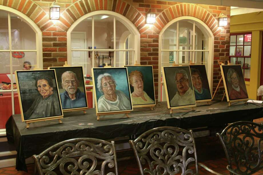 Beacon Pointe Memory Care Community in Clifton Park hosted an unveiling event last month. In collaboration with artist Meghan Murray from Skidmore College, the center worked to create a representational legacy of its  residents. (Submitted photo) Photo: Unknown