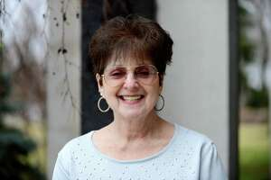 Jefferson award finalist Vera Michelson on Monday, March 28, 2016, at the Times Union in Colonie, N.Y. An activist all her adult life, she has participated in many local organizations supporting racial, social and economic justice and also working toward international efforts for peace and justice. A founding member of the Whitney M. Young Community Health Center in Albany and ROOTS (Re-Entry Opportunities and Orientations Toward Success) in Albany and Rensselaer counties, she has helped organize many community action groups for peace and social justice. (Will Waldron/Times Union)