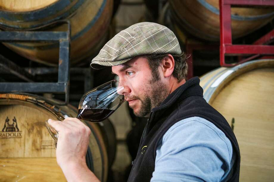 Winemaker Jonathan Hajdu at kosher winery Covenant Wines in Berkeley. Photo: Gabrielle Lurie, Special To The Chronicle