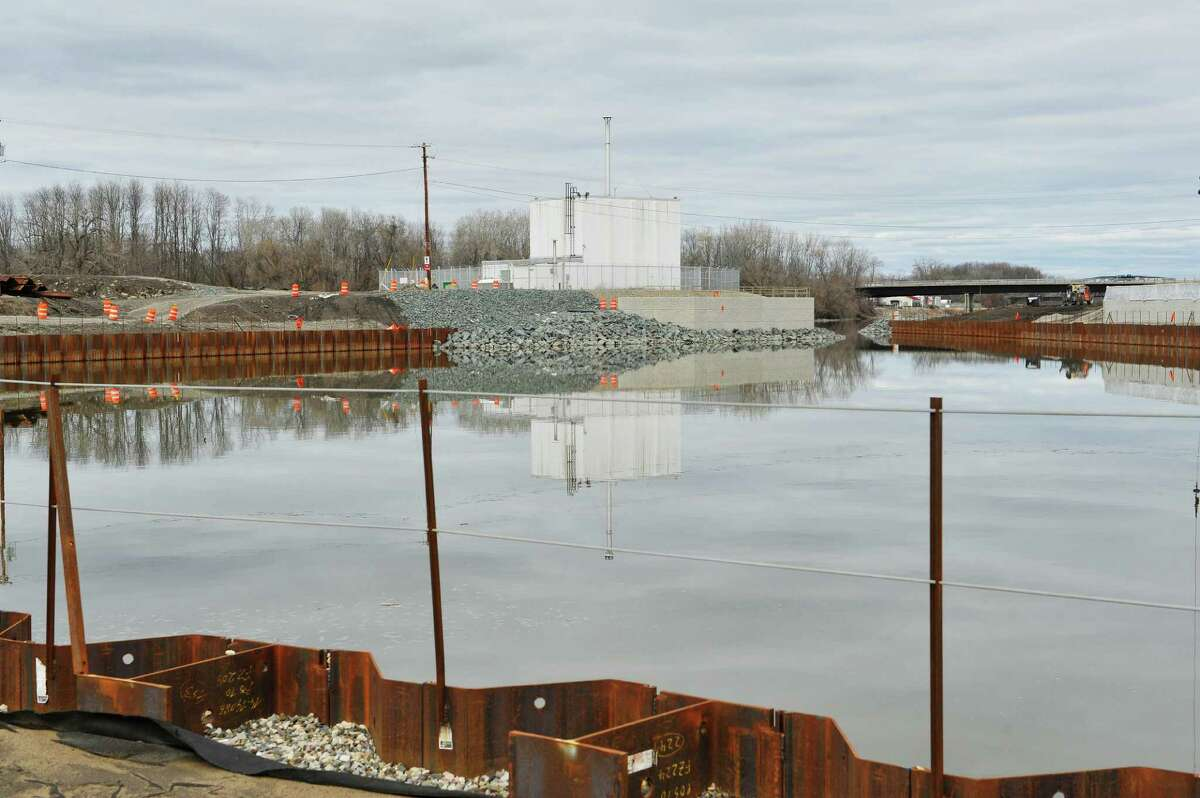 A view of the RPI research reactor at the Mohawk Harbor site on Tuesday, March 15, 2016, in Schenectady, N.Y. (Paul Buckowski / Times Union)