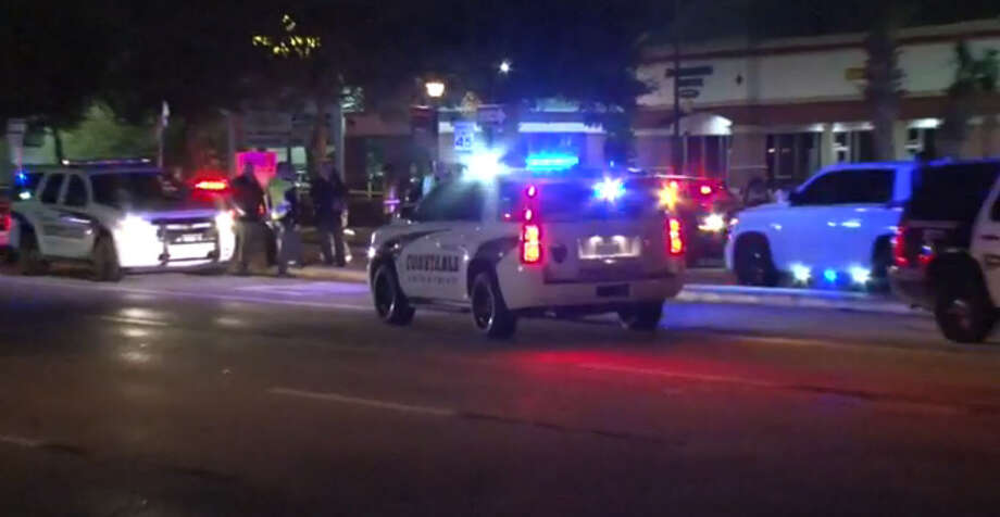 A woman was killed overnight near Space Center Houston after being struck by two cars, neither of which remained at the scene. Photo: Metro Video