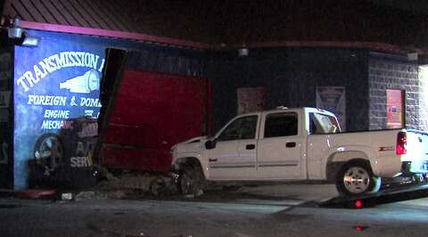 SAPD: Driver loses control of truck, rams into business
