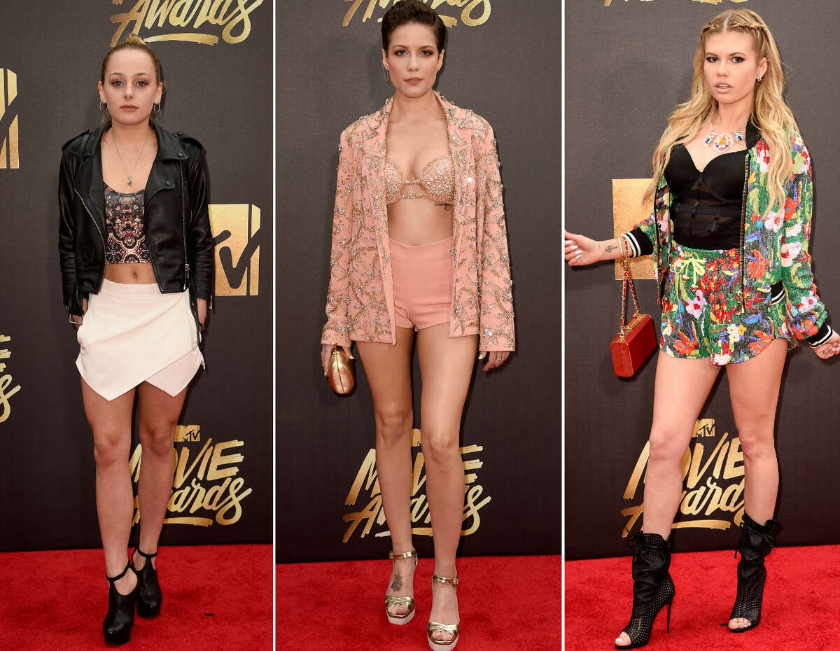 The MTV Movie Awards red carpet has us concerned for future generations. Click through the slideshow to see the best and worst looks.