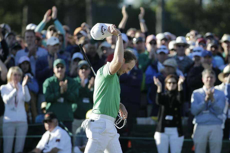Danny Willett became the first Englishman since Nick Faldo 20 years earlier to win the Masters — and it came in similar fashion after a leader's epic collapse. Photo: Charlie Riedel, AP