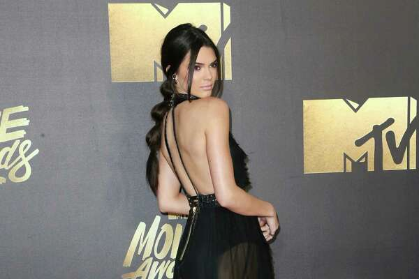 BURBANK, CALIFORNIA - APRIL 09:  Model Kendall Jenner attends the 2016 MTV Movie Awards at Warner Bros. Studios on April 9, 2016 in Burbank, California.  MTV Movie Awards airs April 10, 2016 at 8pm ET/PT.