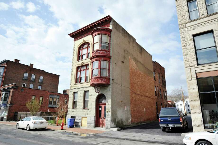 A view of the Cohoes Hotel, located at 134 Remsen Street, seen here on Thursday, April 7, 2016, in Cohoes, N.Y.  (Paul Buckowski / Times Union) Photo: PAUL BUCKOWSKI / 10036107A