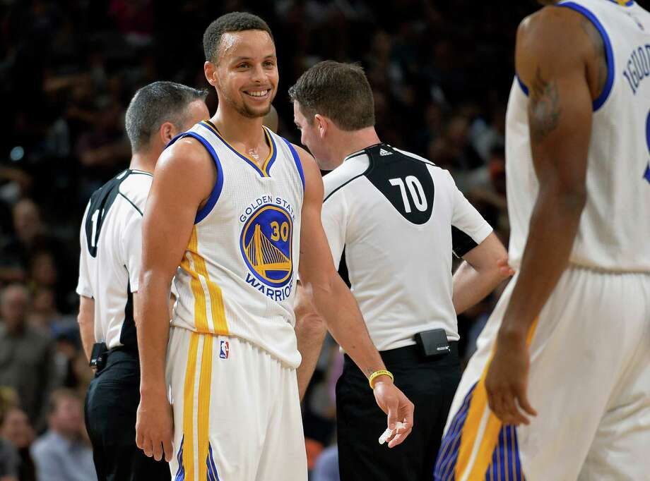 Stephen Curry and the Warriors got the last laugh Sunday night and will go for a record 73rd victory Wednesday against the Grizzlies. Photo: Darren Abate, FRE / FR115 AP