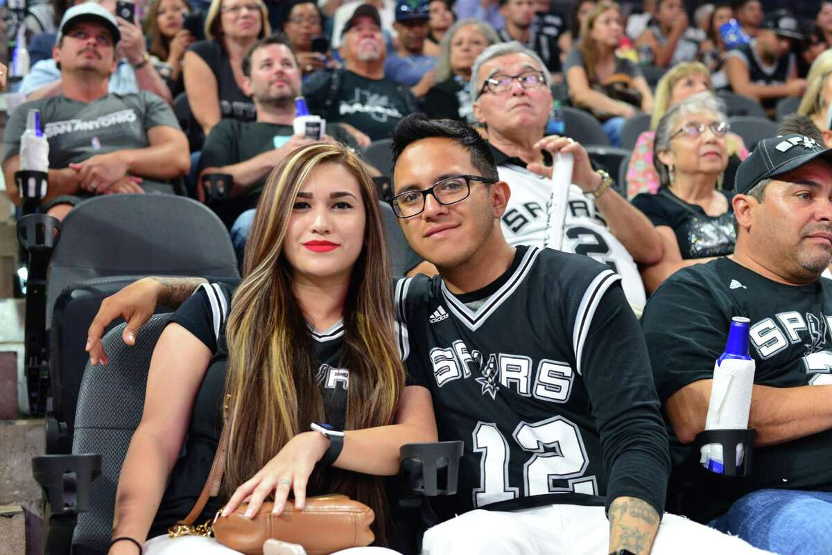Though the Spurs lost their first home game of the season, fans still showed up in force to support the Silver and Black.