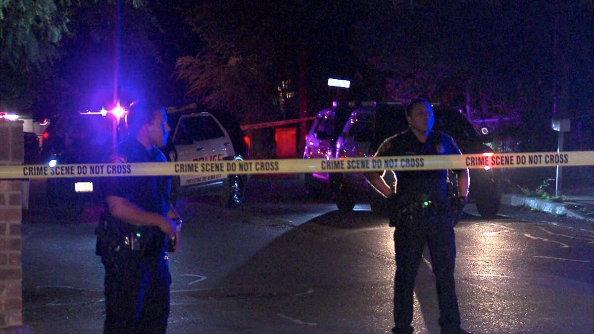 Police say two men were injured in a shooting on the West Side on Sunday night.