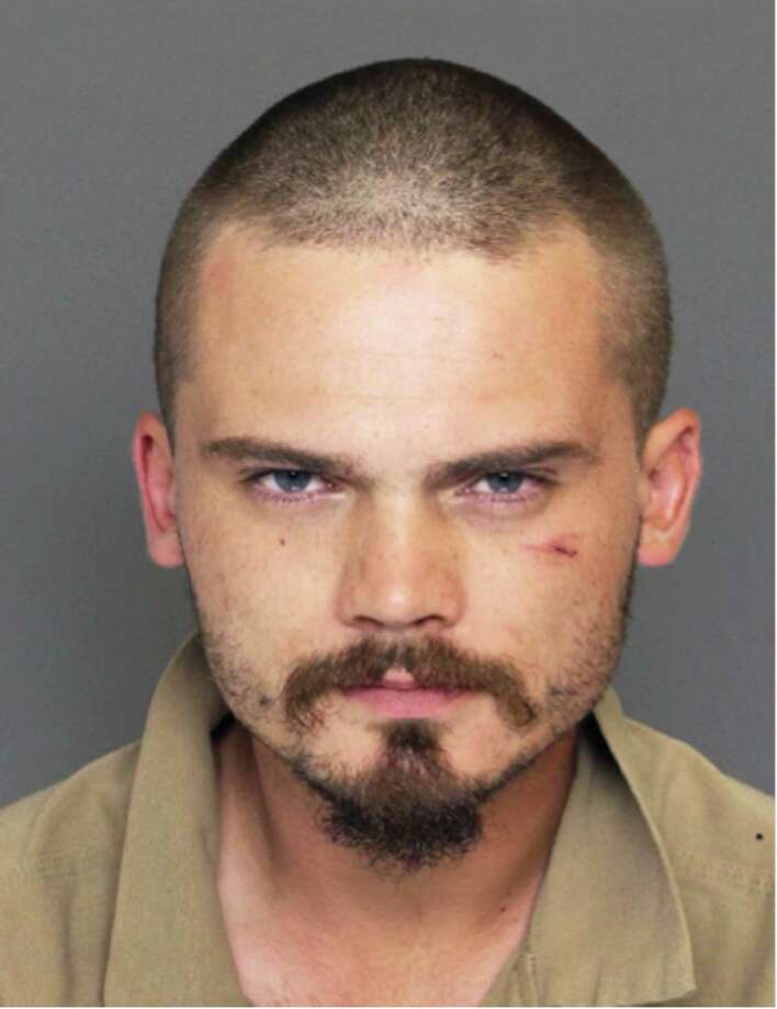 """This Wednesday, June 17, 2015 law enforcement booking photo provided by the Colleton County, S.C., Sheriff's Office shows former """"Star Wars"""" actor Jake Lloyd, who was booked as Jake Broadbent, after he allegedly lead deputies on a chase hitting speeds over 100 mph Wednesday at the Colleton County Detention Center, in Walterboro, S.C. Colleton County, South Carolina, Sheriff's Sgt. Kyle Strickland said Sunday  June 21, 2015, that deputies arrested a 26-year-old man they confirmed through a former talent agent was Jake Lloyd. Strickland said the man gave his name as Jake Broadbent. He played young Anakin Skywalker in the 1999 movie """"Star Wars: Episode I - The Phantom Menace."""" Photo: Colleton County Sheriff's Office Via AP / Colleton County Sheriff's Office"""