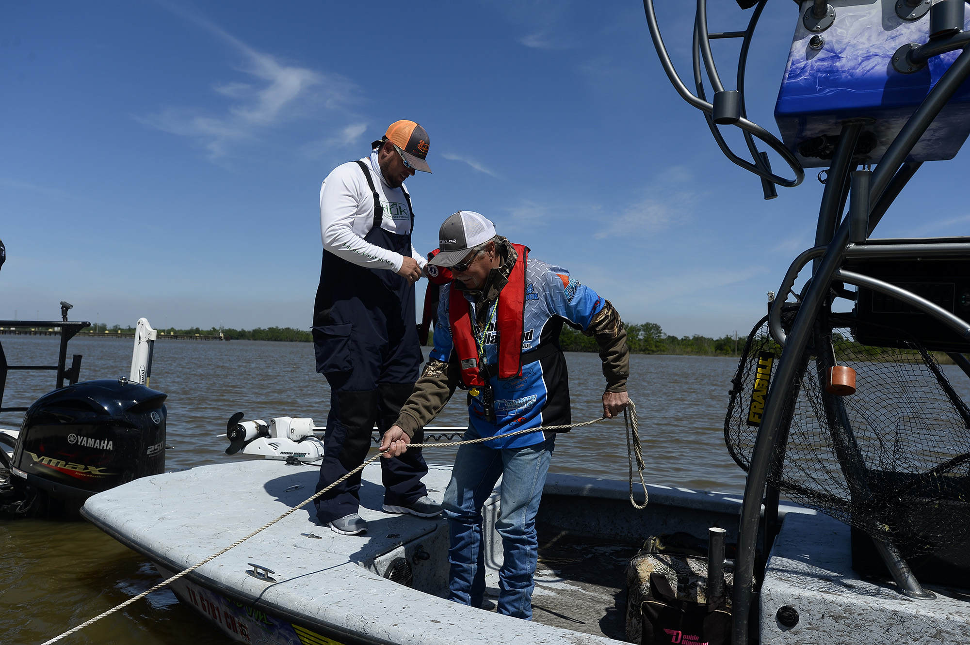 Orange sees economic boon as fishing tournament hot spot for Fishing spots in houston