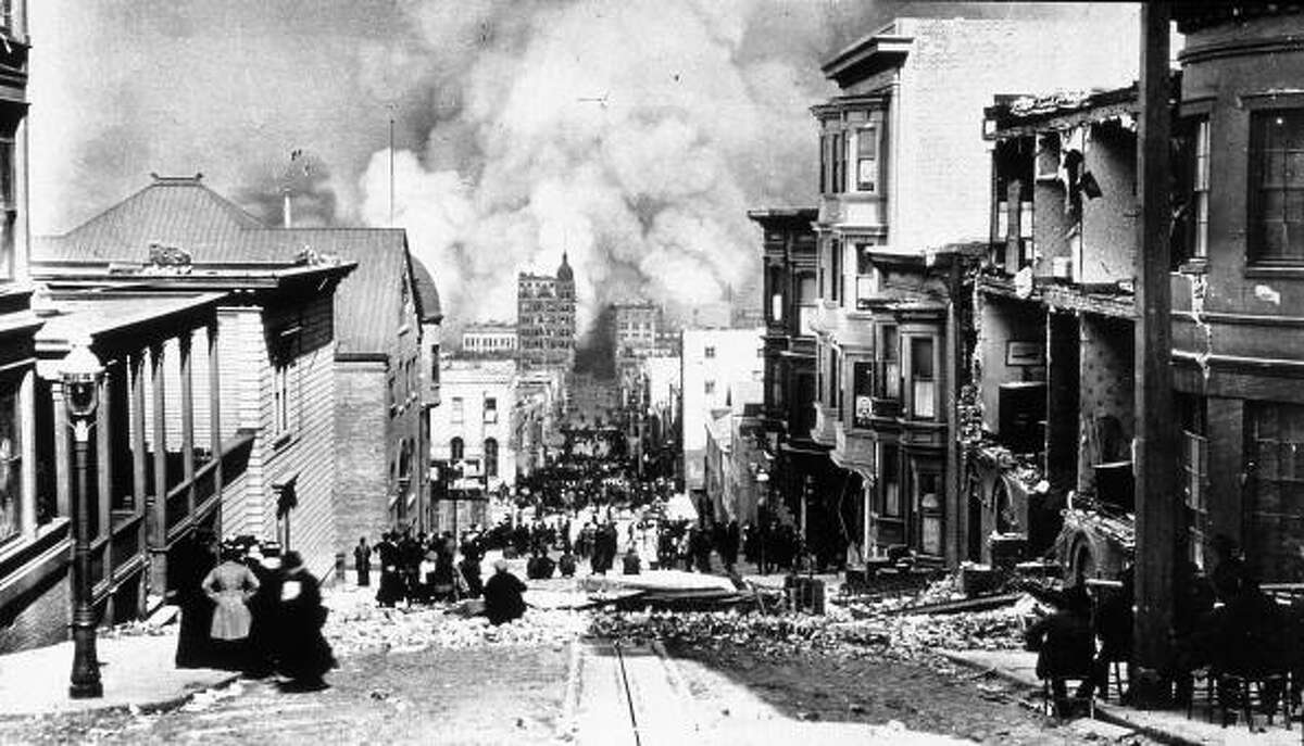 #2 - San Francisco's Great Quake - Magnitude 7.8: The earthquake and resulting fires caused an estimated 3,000 deaths and $524 million in property loss.