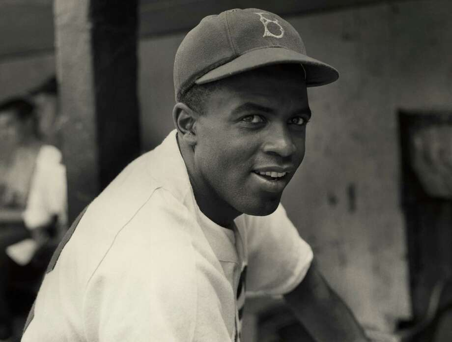 A portrait of the Brooklyn Dodgers' infielder Jackie Robinson in uniform.Click through to see Robinson's life through photos... Photo: Hulton Archive, Getty Images / Archive Photos
