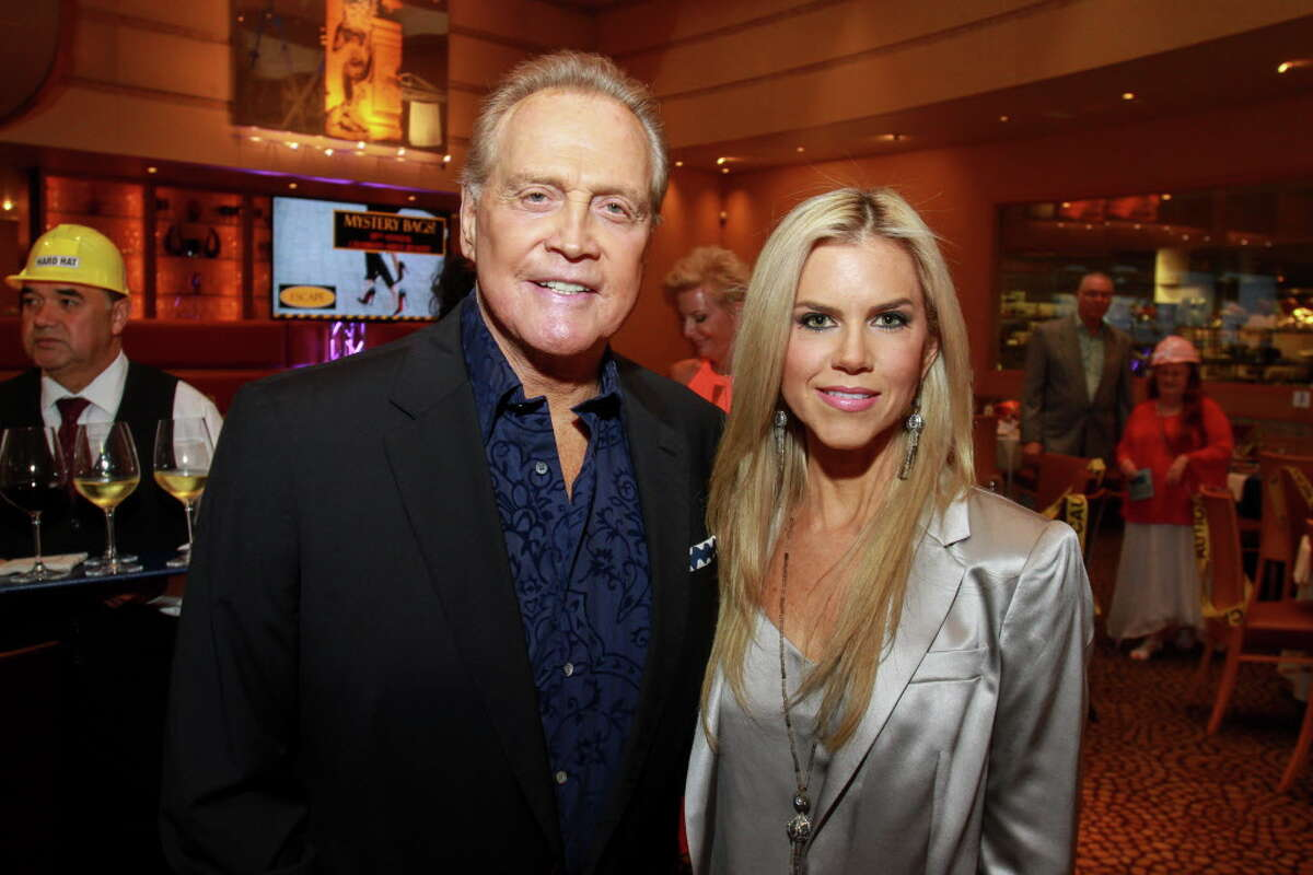 Lee and Faith Majors at the celebrity servers event. (For the Chronicle/Gary Fountain, April 10, 2016)