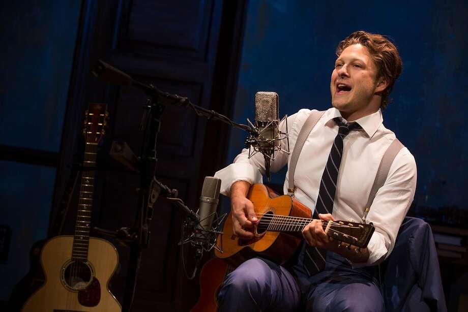 """Benjamin Scheuer in his solo musical """"The Lion"""" Photo: Matthew Murphy"""
