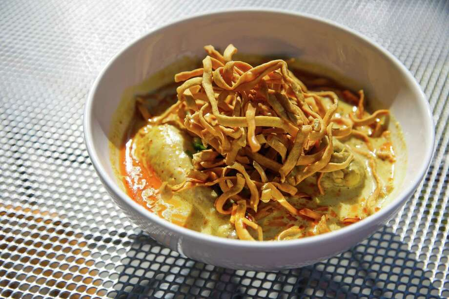 25. Foreign CorrespondentsCuisine: ThaiEntree price: $$-$$$$Where: 4721 N. MainPhone: 713-864-8424Website: treadsack.com/foreigncorrespondentsRead Alison Cook's review of Foreign Correspondents.Pictured above: Khao Soi Photo: Michael Ciaglo, Staff / © 2016  Houston Chronicle