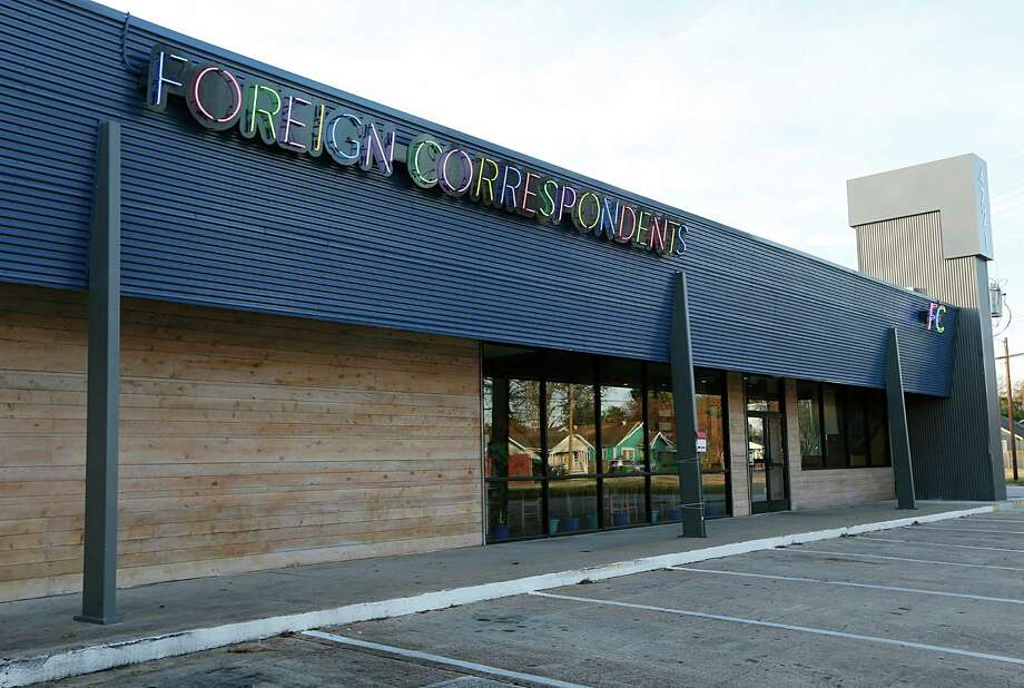 Foreign Correspondents restaurant has closed Photo: James Nielsen, Staff / © 2015  Houston Chronicle