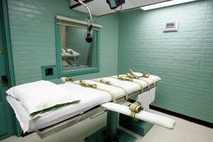 A total of 28 people were put to death in six states in 2015, the lowest number of executions recorded in the U.S. since 1991. Only three states  - Texas, Missouri and Georgia - were responsible for 85 percent. The busiest executioner in 2015 was in Texas, where 13 men were put to death by lethal injection.  (AP Photo/Pat Sullivan, File)