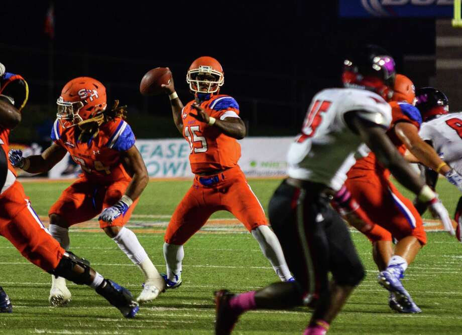 Sam Houston State quarterback Jared Johnson will enroll at UTSA this summer and be eligible to play for the Roadrunners this season. Photo: Courtesy Photo /