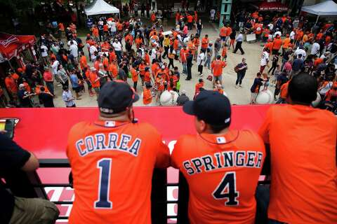 16277b82d Astros players pick nicknames for Players  Weekend jerseys - Houston ...