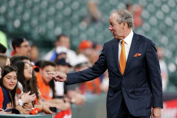 Astros owner Jim Crane expects to be right back in the hunt for a World Series trophy come October, as he expressed his team's desire to stay focused and on the same page, make a hot playoff entrance and get another crack at the Kansas City Royals.