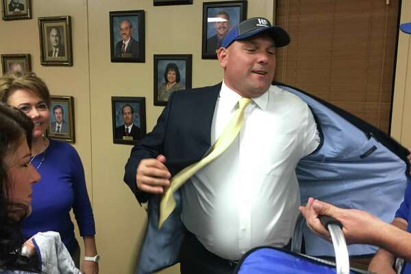 Former Lumberton assistant coach Bill Jehling was approved by a vote of 4-2 to be the Hamshire-Fannett's next athletic director and head football coach during a special board meeting on Monday. (David Thompson/The Enterprise)