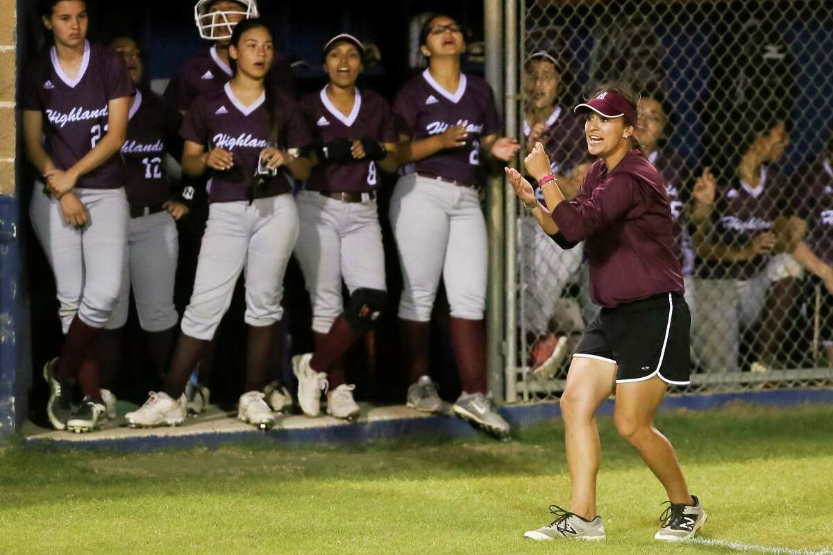 Highlands' Monica Acuna said she invests so much energy in coaching in hopes that players will respond in kind.