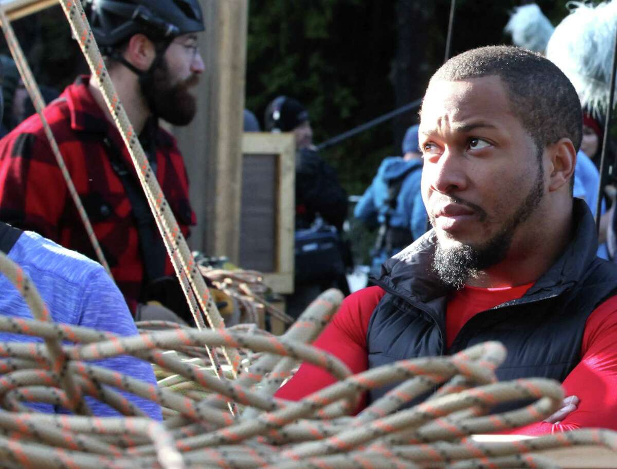 San Antonio's Nick 'The Reaper' Irving guides his team through many a grueling challenge on the premiere of 'American Grit,' a new reality competition series on Fox.