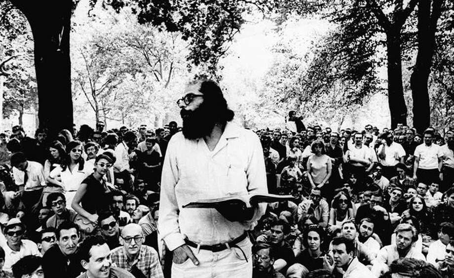 In 1966, New Canaan was not immune as a wave of civil unrest swept the nation, driven by activists challenging the war in Vietnam and the nation's civil-rights policies. Here, poet Allen Ginsberg, one of the leading figures of the counter-cultural movement, reads to a gathering in New York City. Photo: Associated Press / File Photo / New Canaan News