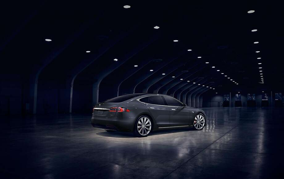 Tesla Motors on Tuesday unveiled the first changes to the body of its popular Model S electric sedan, which began production in 2012. The changes to the car's front make the Model S look more like the upcoming Model 3, scheduled to begin production late next year. Photo: David R. Baker, Tesla Motors