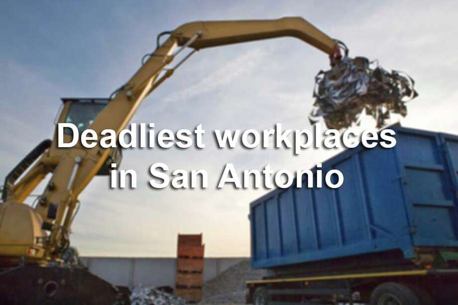 OSHA records: San Antonio companies with worker deaths from January 2009-May 2015. / (c) STUDIO BOX