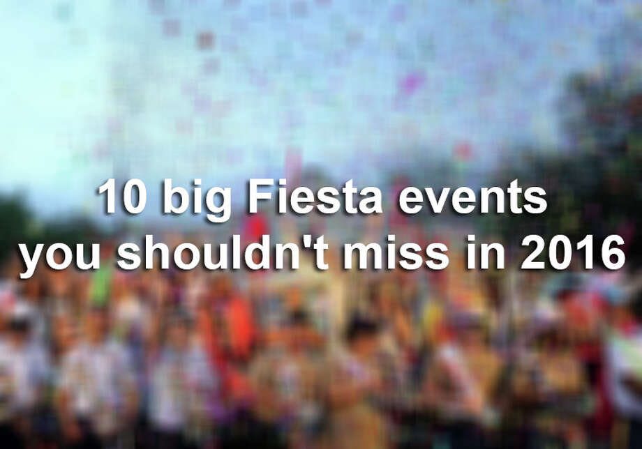 It's Fiesta time, San Antonio!From the Taste of New Orleans to the Battle of Flowers Parade, here's a quick guide to this year's top Fiesta events. Photo: Edward A. Ornelas / © 2015 San Antonio Express-News