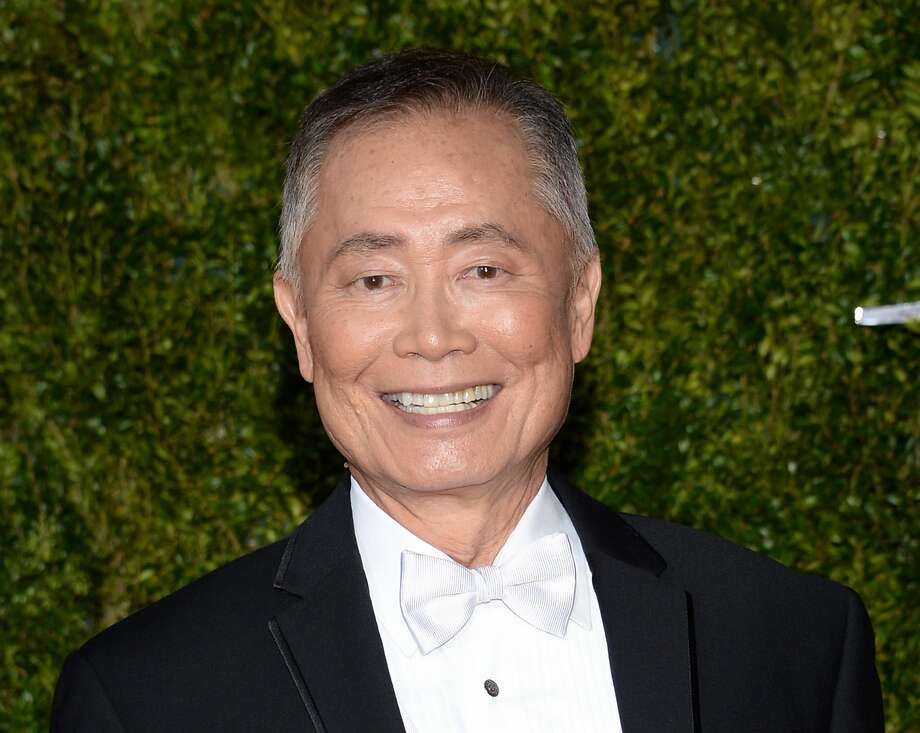 "FILE - In this June 7, 2015 file photo, actor George Takei arrives at the 69th annual Tony Awards in New York. A Virginia mayor is facing a backlash from Takei after the politician cited the mass detention of Japanese-Americans during World War II to deny Syrian refugees the opportunity to resettle in the United States. The TV and stage star pointed out that Bowers was wrong to call those interred as ""foreign nationals"" since two-thirds were U.S. citizens. Also, he said there was never any proven incident of espionage or sabotage from the Japanese-Americans held. (Photo by Evan Agostini/Invision/AP, File) Photo: Evan Agostini, Associated Press"