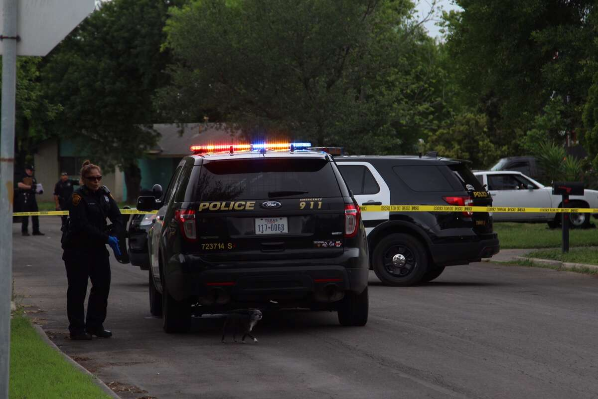 A man allegedly shot his neighbor after a dispute over surveillance cameras on the Southwest Side April 12, 2016.