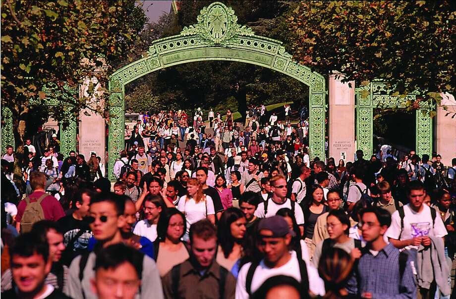 Sather Gate on the UC Berkeley Campus Photo: Zipporah Films