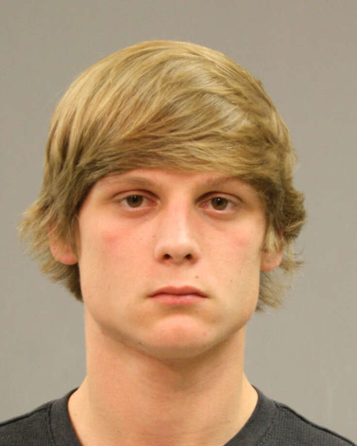 Reese Reno, 19, was charged with assault after a fight near Katy's Taylor High School.