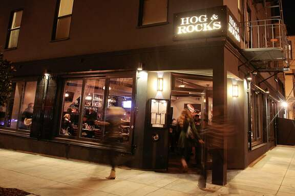 The exterior of the Hog Rocks restaurant in San Francisco, Calif.,  is seen on Sunday, January 12,  2011.