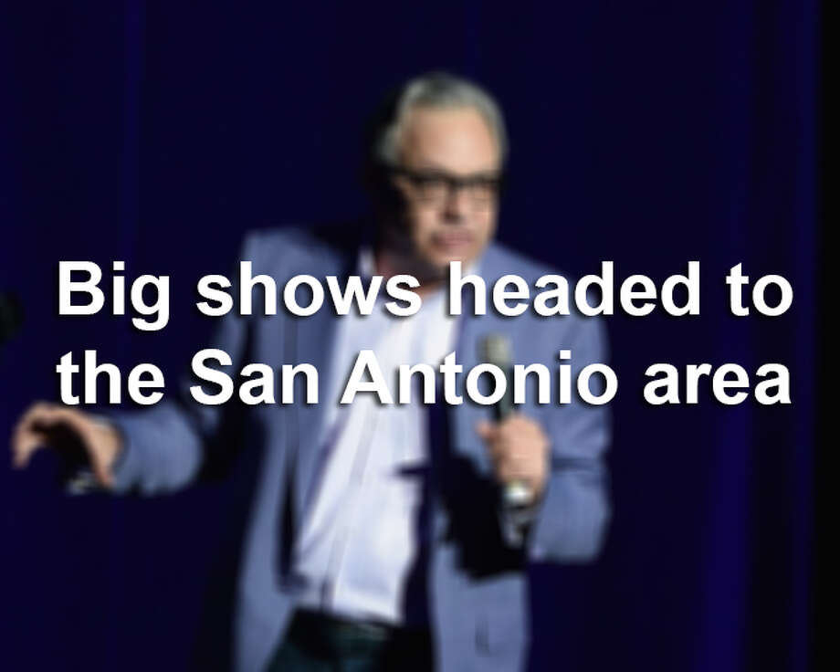 Click through the gallery to see some of the biggest performers coming to the Alamo City.