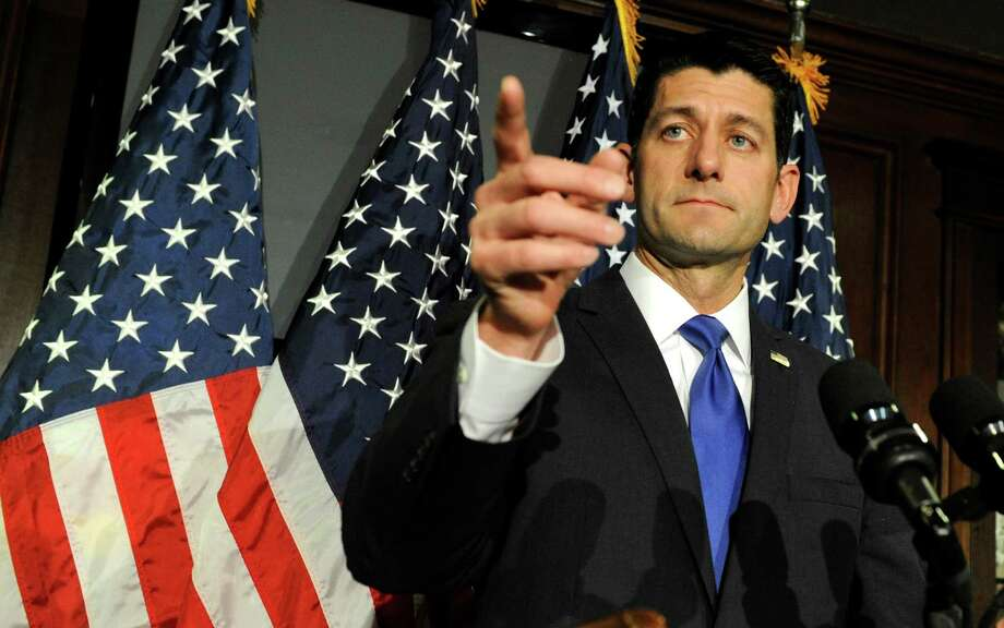 House Speaker Paul Ryan on Tuesday said he belives that the Republican presidential nominee should come from the pool of candidates who have been in race. Photo: MIKE THEILER, Stringer / AFP or licensors