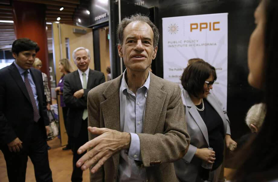 Ron Unz, who is using his U.S. Senate bid to preserve his bi lingual education ban, attends an S.F. conference this month. Photo: Michael Macor, The Chronicle