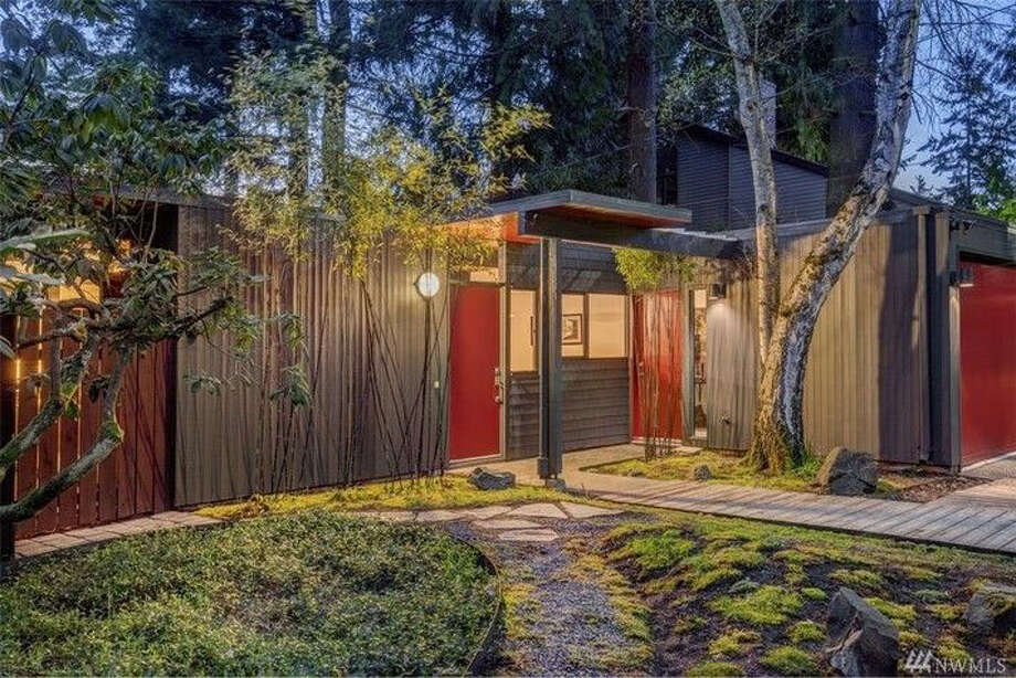 This home, at 11509 32nd Ave. N.E., is listed for $700,000.The two-bedroom, one-bathroom home was built in 1954 and designed by renowned local architect Ibsen Nelsen. It is in the Meadowbrook neighborhood.   You can see the full listing here. Photo: Edward Krigsman, Windermere Real Estate Company / Edward KrigsmanWindermere Real Estate Company