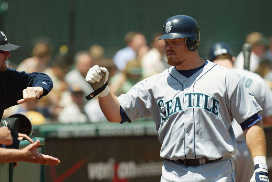 Bucky JacobsenJacobsen attained an almost mythical aura while launching tape-measure home runs as he rose through the Mariners' minor-league ranks. After almost a decade making his way through the system, he finally made his big-league debut with the Mariners in July 2004.It was a lost season for a Mariners team that went on to lose 99 games, but Jacobsen hit .275 with nine homers and 28 RBIs in 42 games. The dream came to an end when he had to undergo major knee surgery in September, then another the following season after he didn't fully recover. Jacobsent tried but never made it back to the big leagues.
