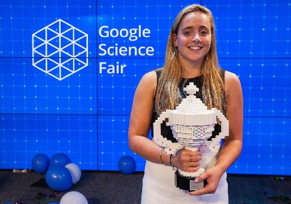 Greenwich High School junior Olivia Hallisey was the grand prize winner in the 2015 Google Science Fair.