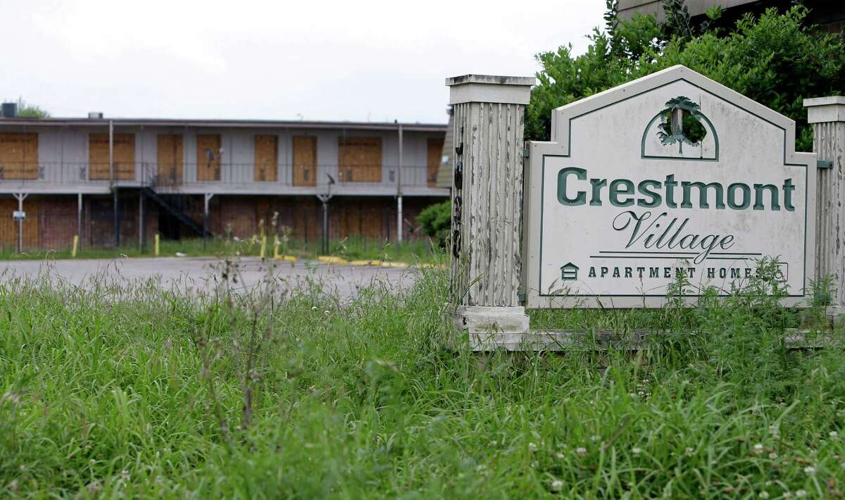 The city spent over $600,000 on the decrepit Crestmont Village Apartments after a judge ordered their closure last October.